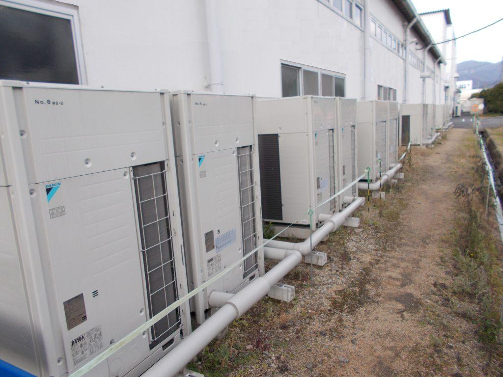 クラタコーポレーション事例の空調照明更新工事
