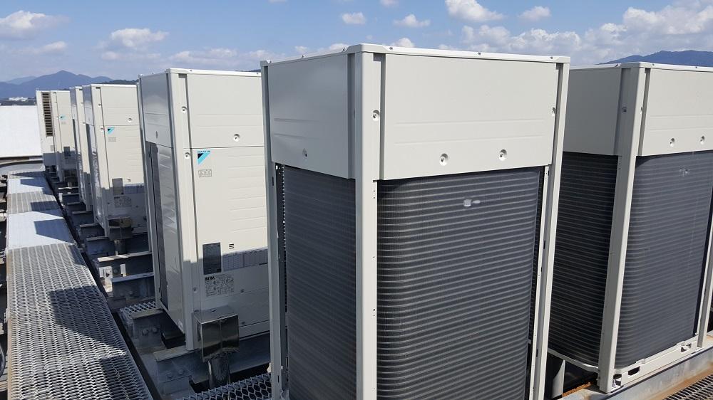 クラタコーポレーションの導入事例広島マツダ本社ビル空調機更新工事1