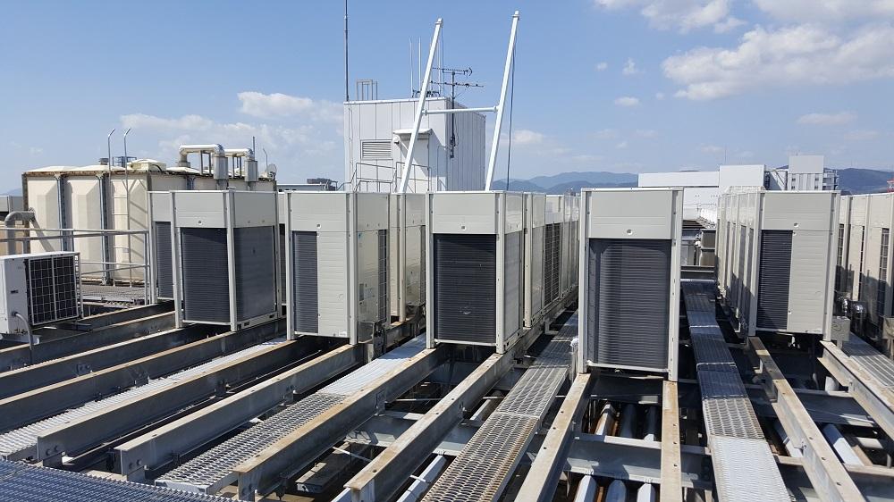 クラタコーポレーションの導入事例広島マツダ本社ビル空調機更新工事2