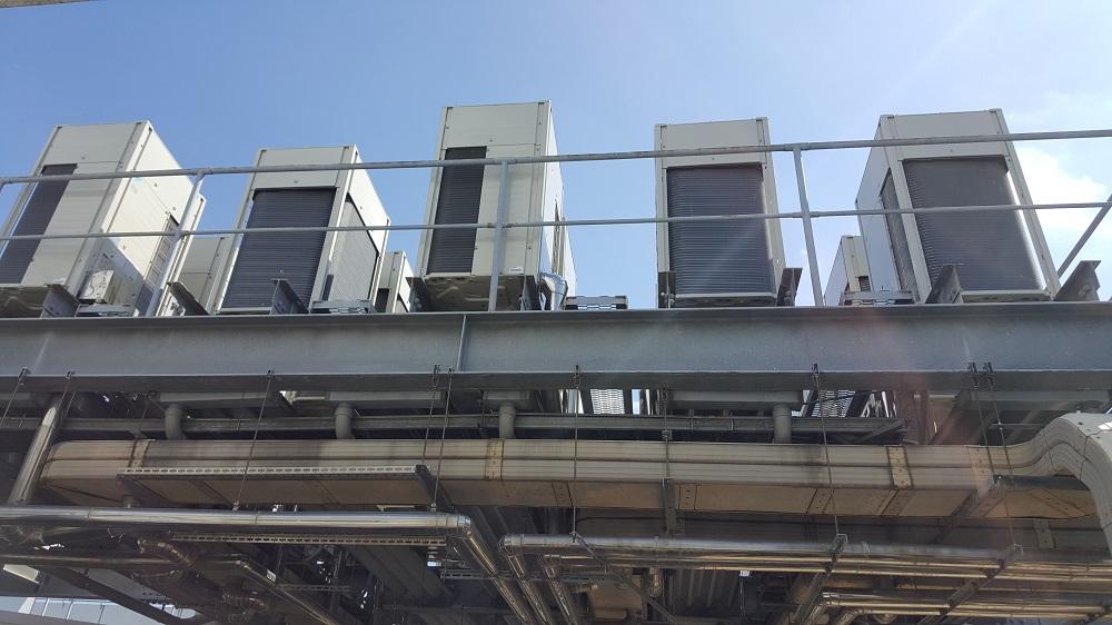 クラタコーポレーションの導入事例広島マツダ本社ビル空調機更新工事4