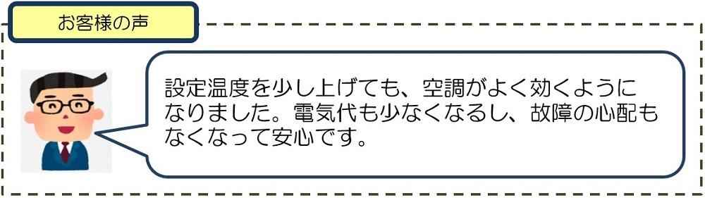 クラタコーポレーションの導入事例広島マツダ本社ビル空調機更新工事6